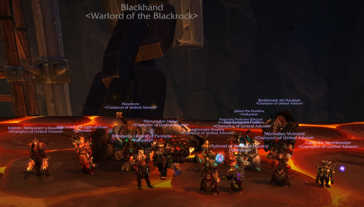 Blackhand? Backhanded.